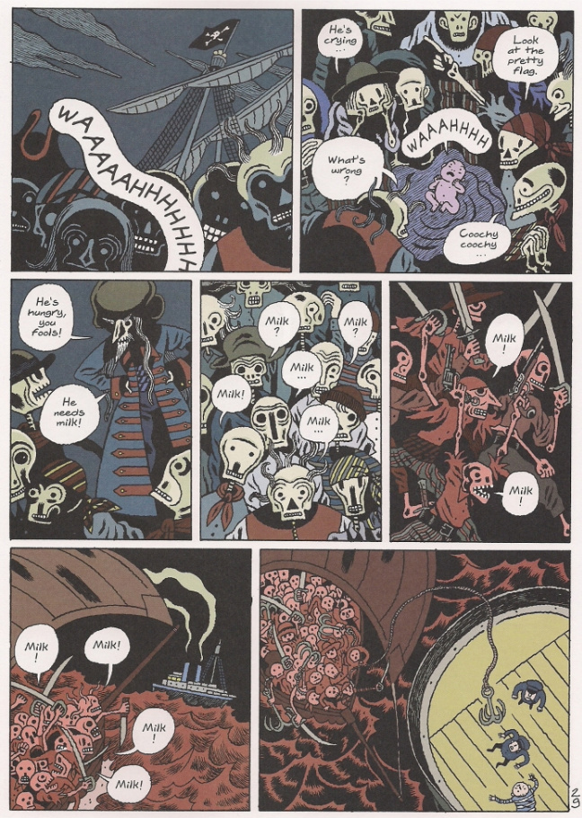 Here We Have An Image From One Of The Highlights This Weeks Releases Fantagraphics Littlest Pirate King English Edition 2009 Album Roi