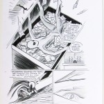 Dash's Spider-man line art
