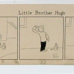 "Frank King's 1946 ""Little Brother Hugo""."